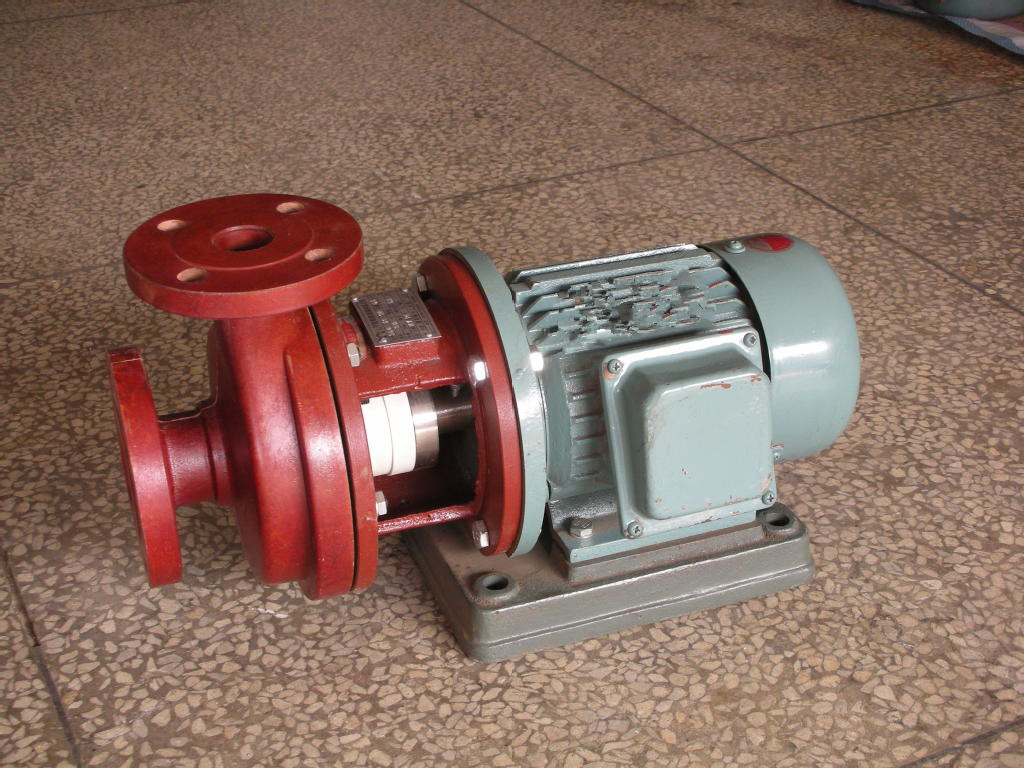 S type glass steel centrifugal pump 5
