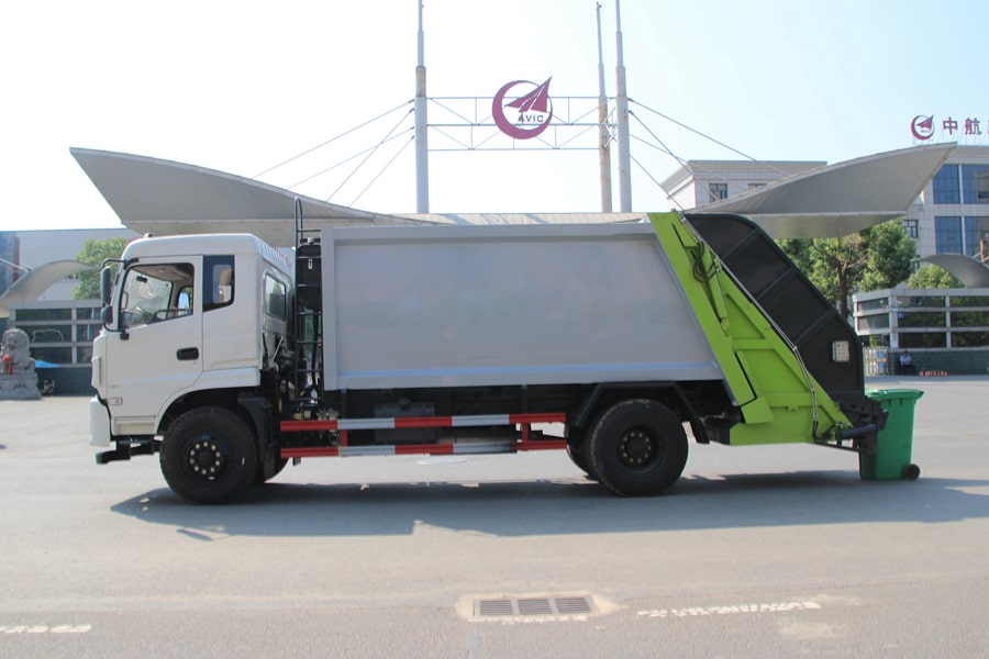 Truck Of Waste Management Cost