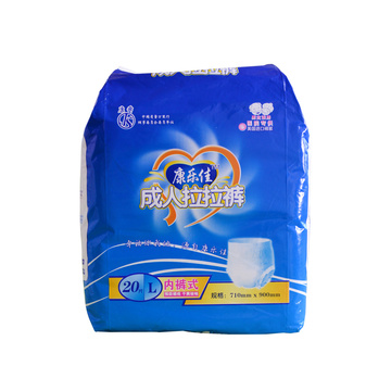 Fluff Pulp Disposable Adult Diapers & Plastic Pants