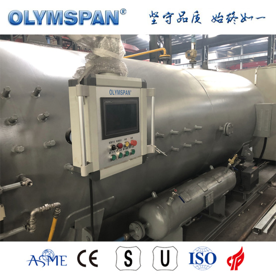 ASME standard small carbon fiber bonding autoclave