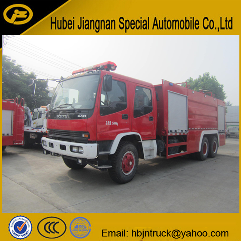 Isuzu Fire Extinguisher Truck