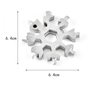 12 in 1 Hand Snowflake Multi Tools