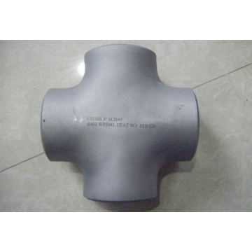 Large diameter WP304 stainless steel cross