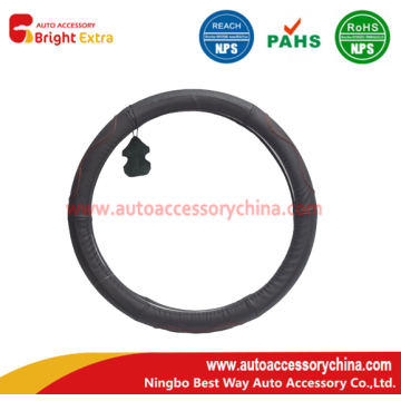Steering Wheel Cover Leather Wrap