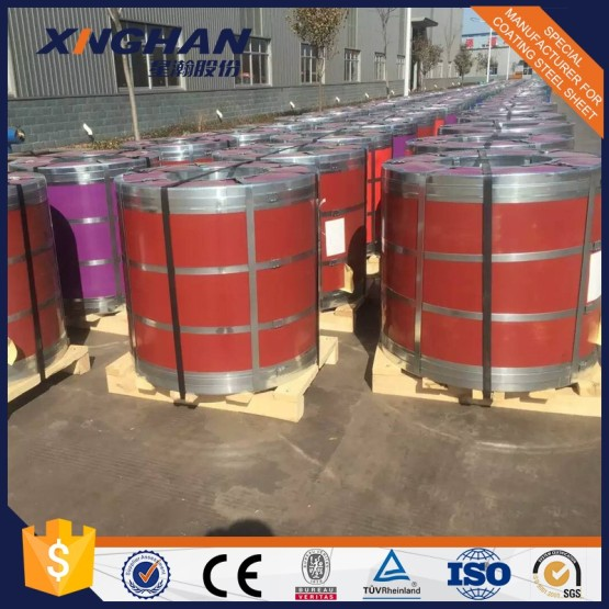 Prime color coated steel coil for Building