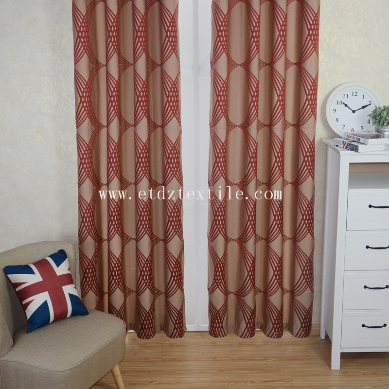 Top Quality Wrinkle Touching Curtain Fabric WZQ202