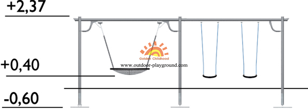 playground swing parts-Side