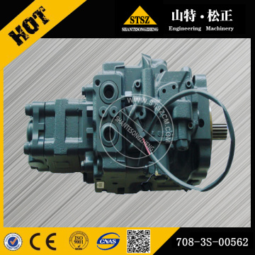 excavator parts PC50MR-2 excavator main pump 708-3S-00562 hydraulic pump