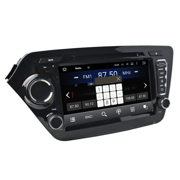 Car audio for KIA K2/RIO 2011-2012