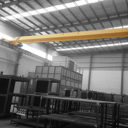 Low headroom type 5 ton single girder crane