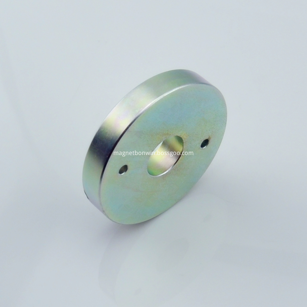 Rare earth large ring magnets
