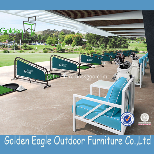 Outdoor furniture cover aluminum