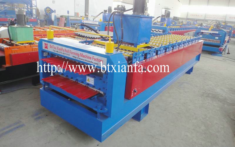 steel sheet rolling machine