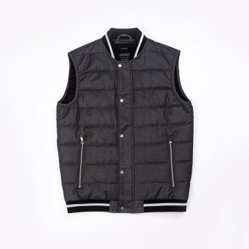 Male`s padding vest Fall Winter