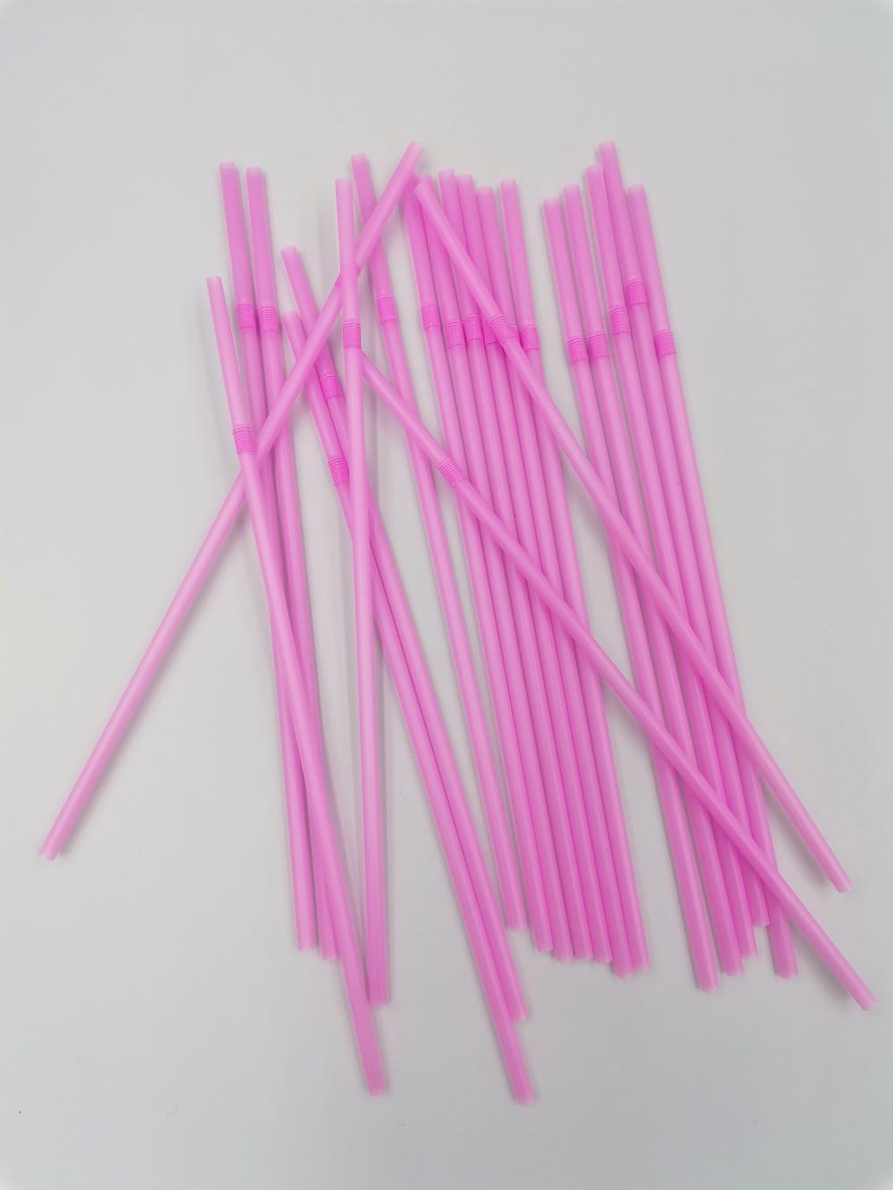 Eco friendly Bendy Party Drinking straws