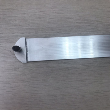 Aluminum micro channel tube with joint