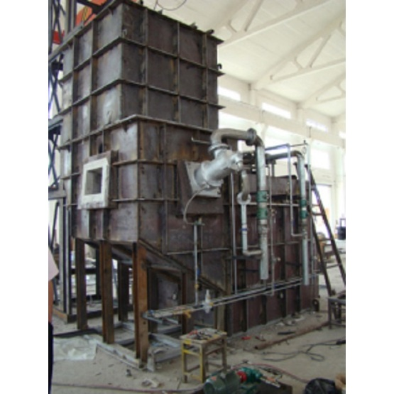 Natural Gas Continuous Centralized Melting Furnace