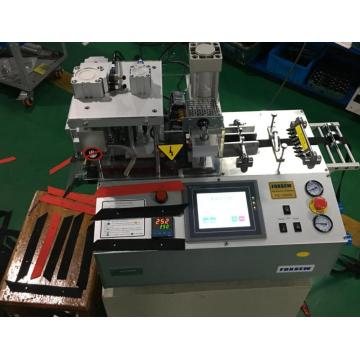 Automatic Bevel Tape Cutter with Hole Punching