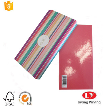 Scarf paper packaging gift box with lid