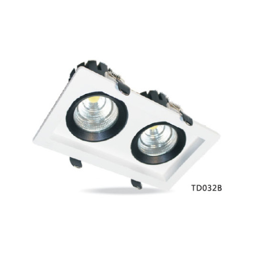 Rectangular COB 9W*2 LED Downlight