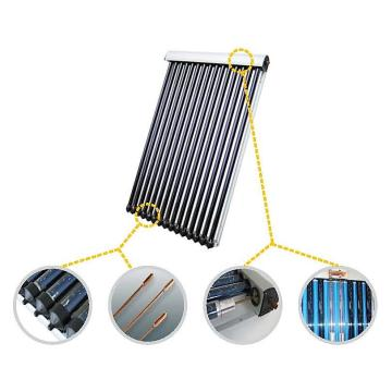 12 vacuum glass  tube solar collector