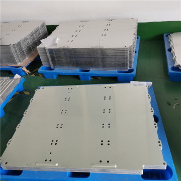Aluminum water cooling plate for heat sink