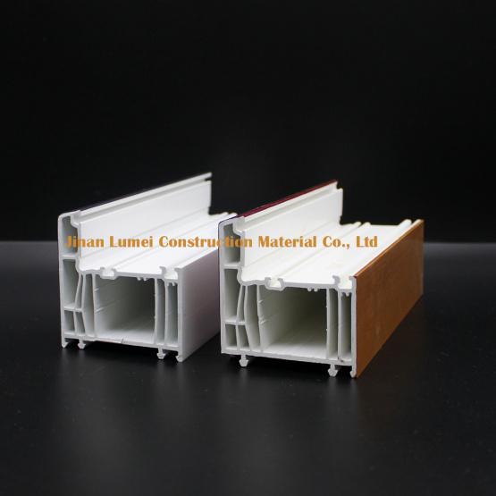 PVC & ASA Co-extruded Profiles