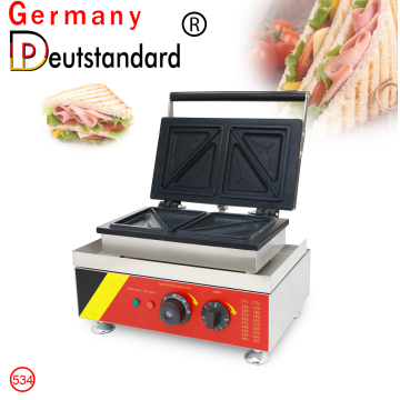 Commercial waffle maker machine sandwich making machine with CE high quality factory price