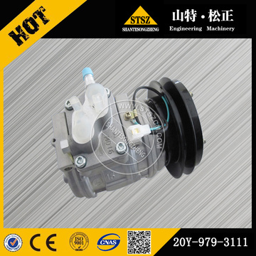 PC200-6 air compressor assy 20Y-979-3111