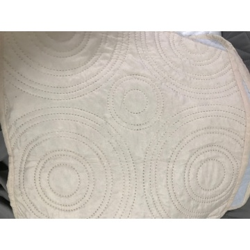 Circle Design Ultrasonic Microfiber Fabrics