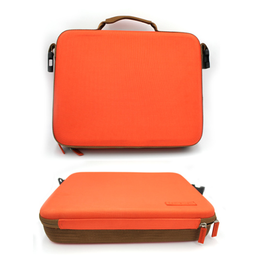 Top grade portable inside pocket carry bag briefcase shockproof eva laptop case