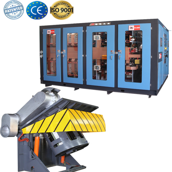 Automatic scrap iron melting machine for metal
