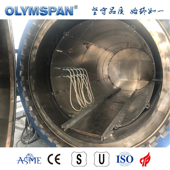 ASME standard small prepreg bonding autoclave