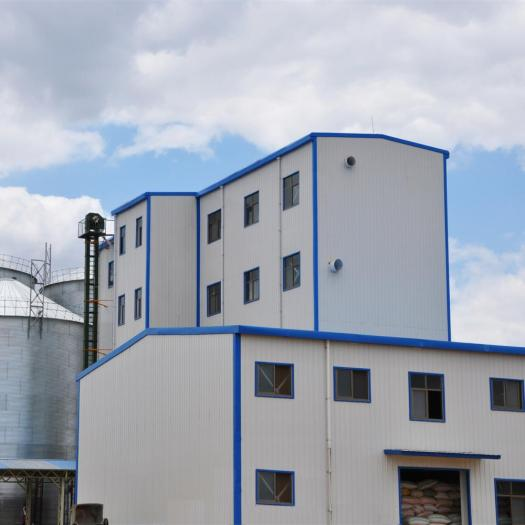 Wheat Flour Milling Plant With Steel Structure Workshop