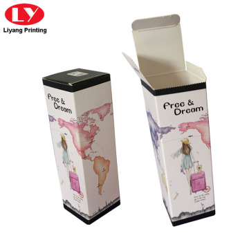 Thick Paper Water Bottle Box Glass Bottle Packaging