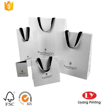 New Design Simple Paper Bag with Logo