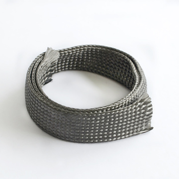 Cable Flexible Carbon Fibre Braided Sleeve