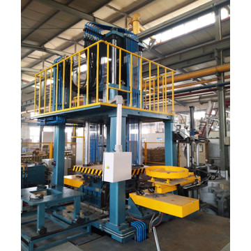 The low pressure die casting machine