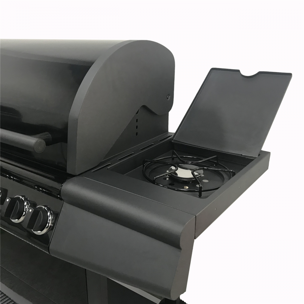 Large Gas BBQ Side Burner