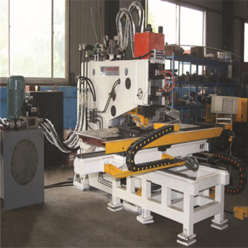 Metal Plate Hydraulic Punching Marking Machine