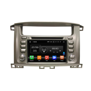 Android 8.0 car audio stereo for LC100 1998-2007