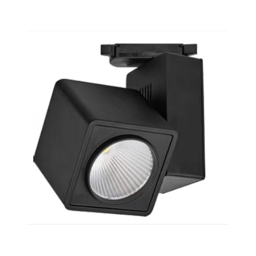 Silo Black LED Track Light