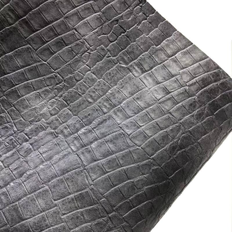 Crocodile Leather PU Artifical Leather