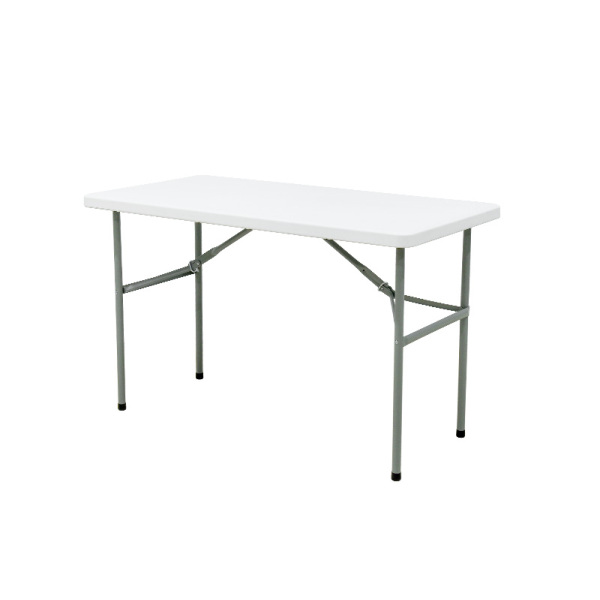 4ft foldable plastic outdoor table for wedding