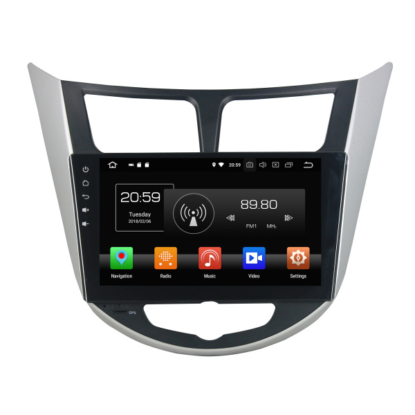 Android car dvd for Verna