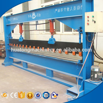 China factory supply one year warranty iron sheet bending machine