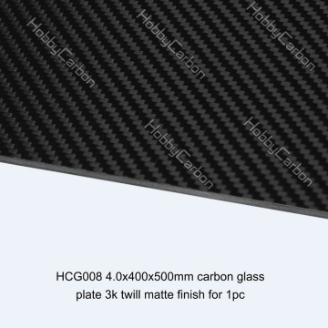 All Thickness Shaped Carbon Glass Plates CNC Service