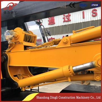 可定制轮式式20米迷你桩驱动器进行施工