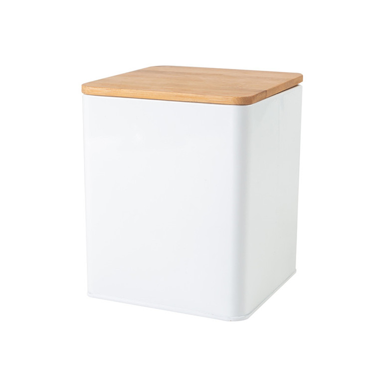 Canister Set Air Tight Bamboo Lids-3