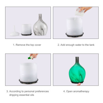 Portable Ultrasonic Aromatherapy Oil Air Diffuser